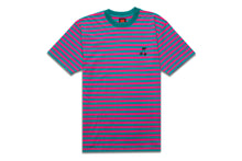 Load image into Gallery viewer, CHERRY STRIPED TEE PINK/GREEN
