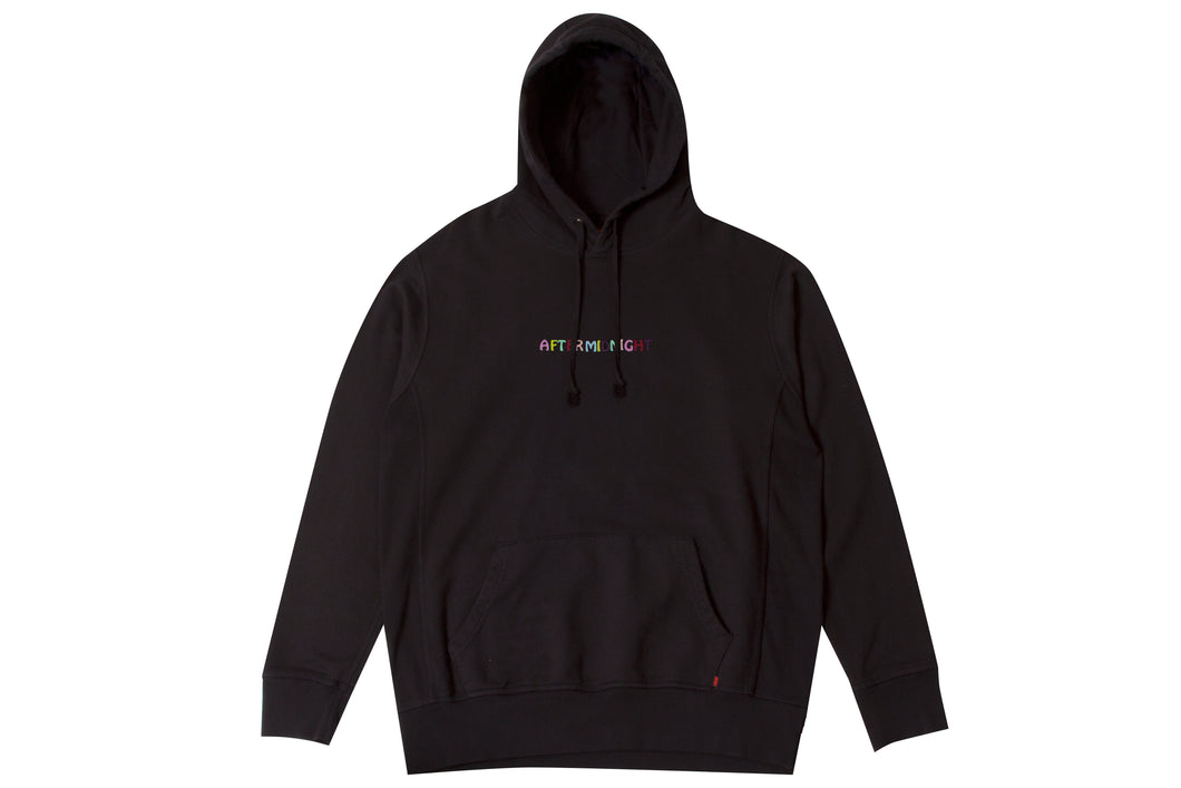 CLOCK STRIKES AFTERMIDNIGHT PULLOVER BLACK