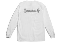 Load image into Gallery viewer, HEADBANGERS LONG SLEEVE TEE WHITE