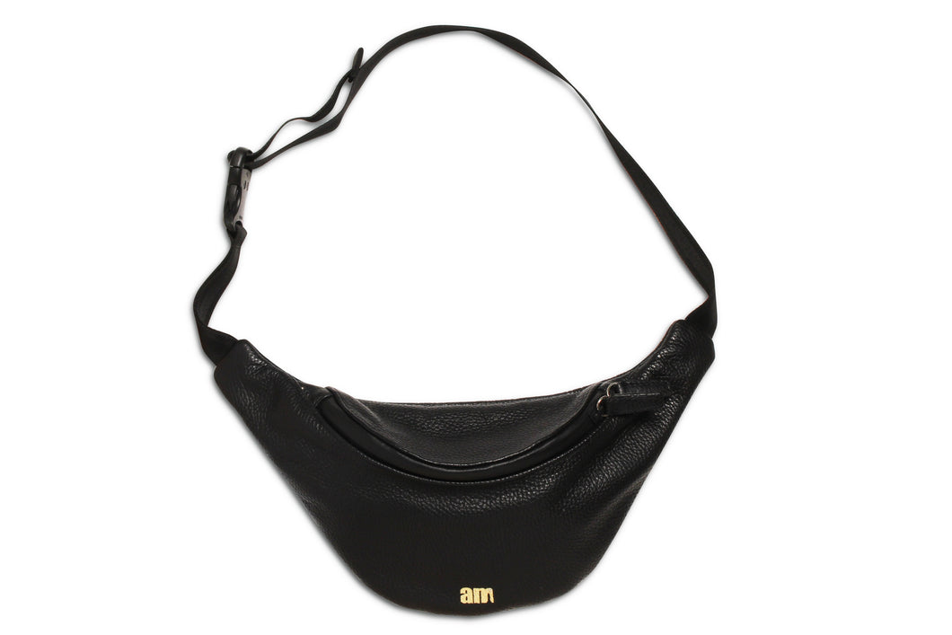 AM x KUBERA WAIST BAG BLACK