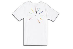 CLOCK STRIKES AFTERMIDNIGHT TEE WHITE