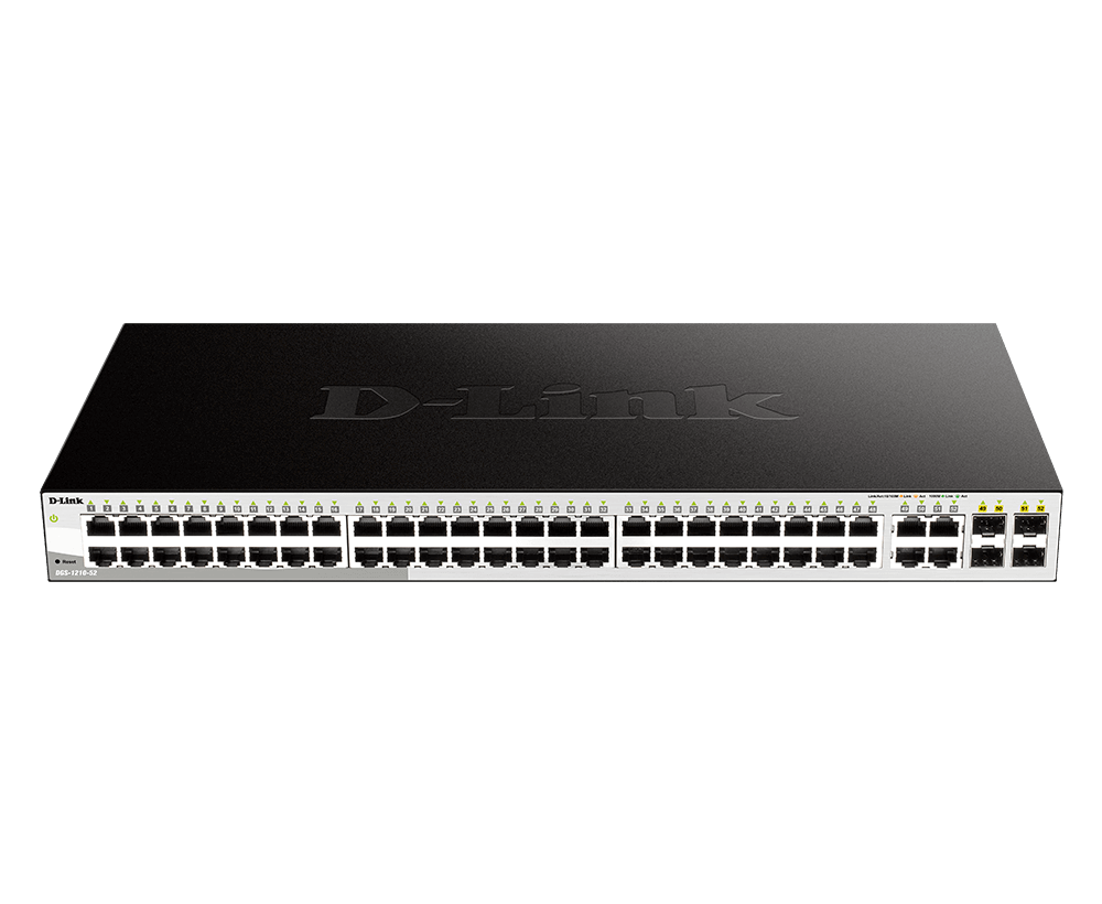 D-Link 52-Port Gigabit Smart Managed Switch
