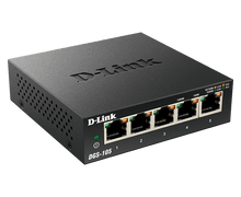 Load image into Gallery viewer, D-Link Gigabit Switch, Unmanaged, 5 Port