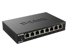 Load image into Gallery viewer, D-Link Gigabit Switch, Unmanaged, 8 Port