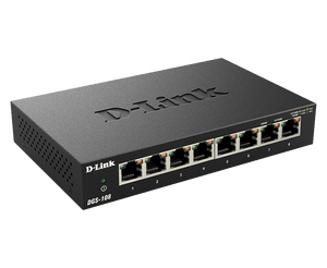 D-Link Gigabit Switch, Unmanaged, 8 Port