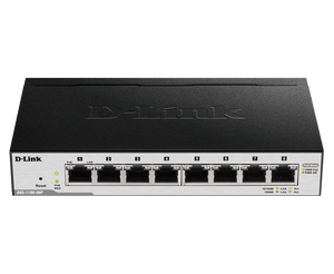 D-Link 8-Port Gigabit PoE Smart Managed Switch