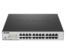 Load image into Gallery viewer, D-Link 24-Port PoE Gigabit Smart Managed Switch
