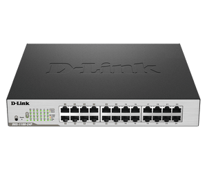 D-Link 24-Port PoE Gigabit Smart Managed Switch
