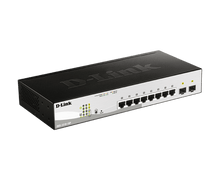 Load image into Gallery viewer, D-Link 10-Port Gigabit Smart Managed PoE Switch