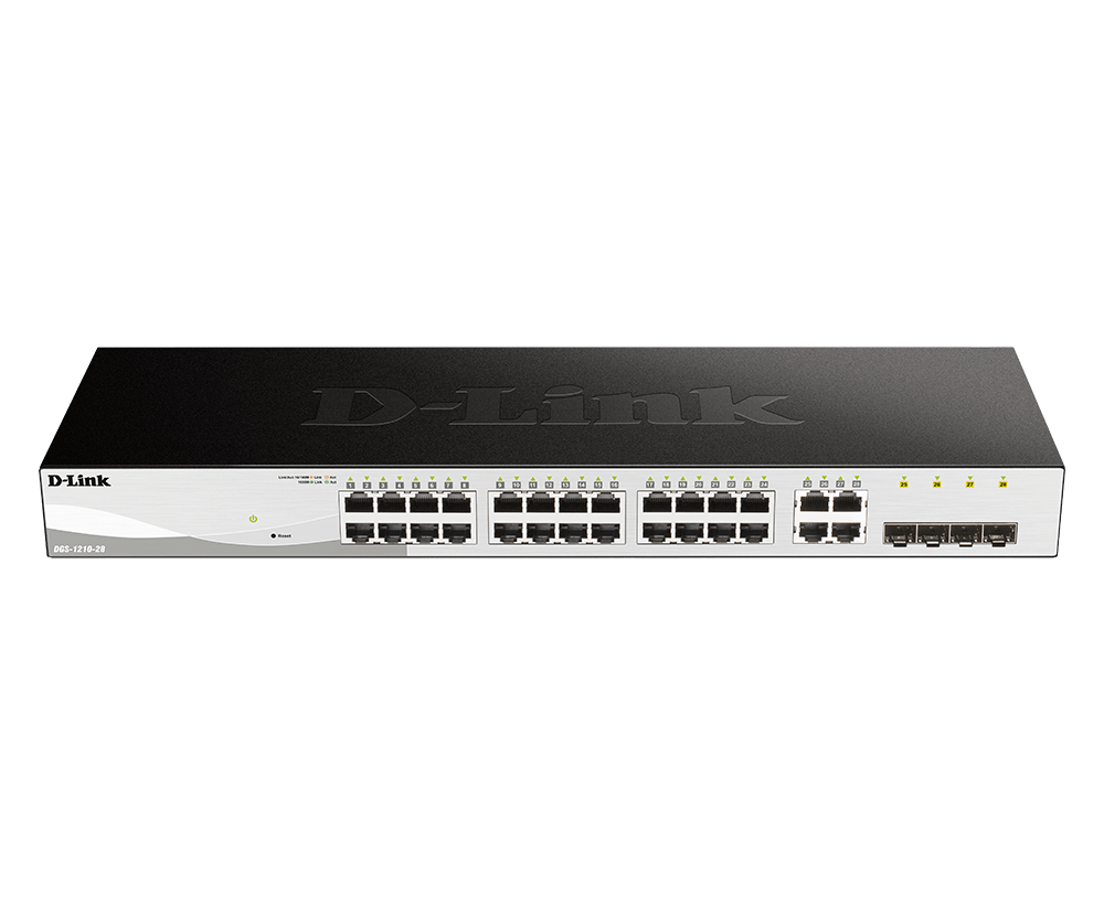 D-Link 28-Port Gigabit Smart Managed Switch
