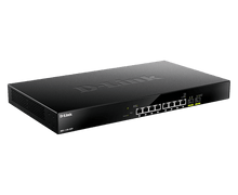 Load image into Gallery viewer, D-Link 8-Port Multi-Gigabit Ethernet Smart Managed PoE Switch with 2 10GbE SFP+ Ports