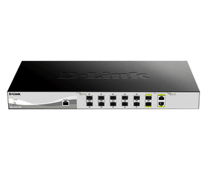 D-Link 10 Gigabit Smart Managed Fiber Switch