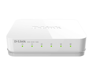 D-Link Network Switch 5-Port Gigabit