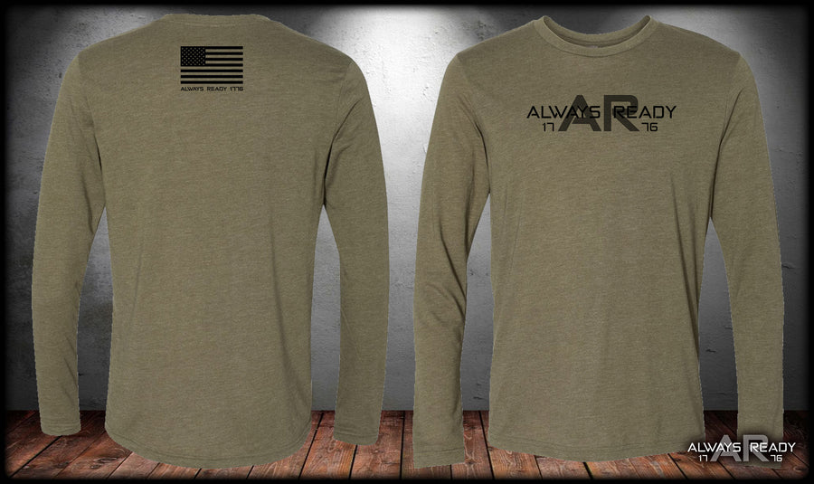 Always Ready 1776 Long Sleeve