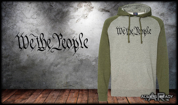 We The People Raglan Hoodie