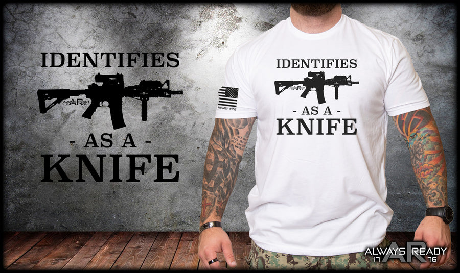 Identifies as a Knife