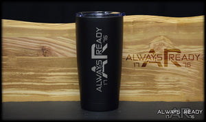 Always Ready Logo Tumbler