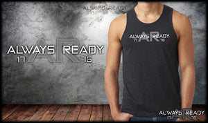 Always Ready Logo Mens Tank