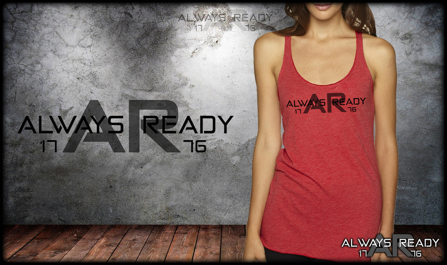 Always Ready Logo Tri-Blend