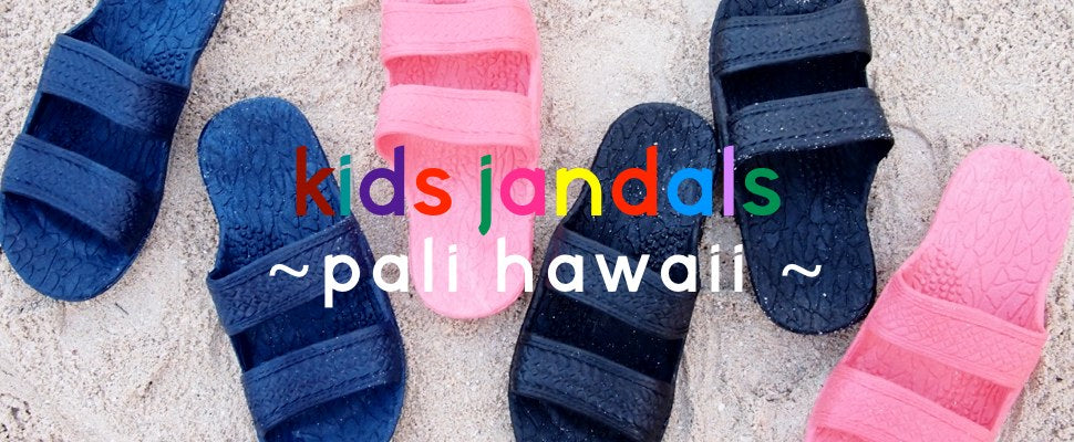 Pali Hawaii Sandals - Kids Hawaiian Jandals