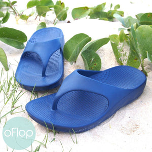 Sandals - Blue Flip - Pali Hawaii Thong Sandals