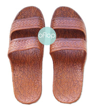 Load image into Gallery viewer, Sandals - Light Brown Jandals -- Pali Hawaii Hawaiian Jesus Sandals