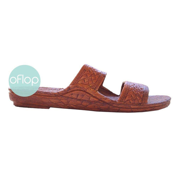 Sandals - Light Brown Jandals -- Pali Hawaii Hawaiian Jesus Sandals