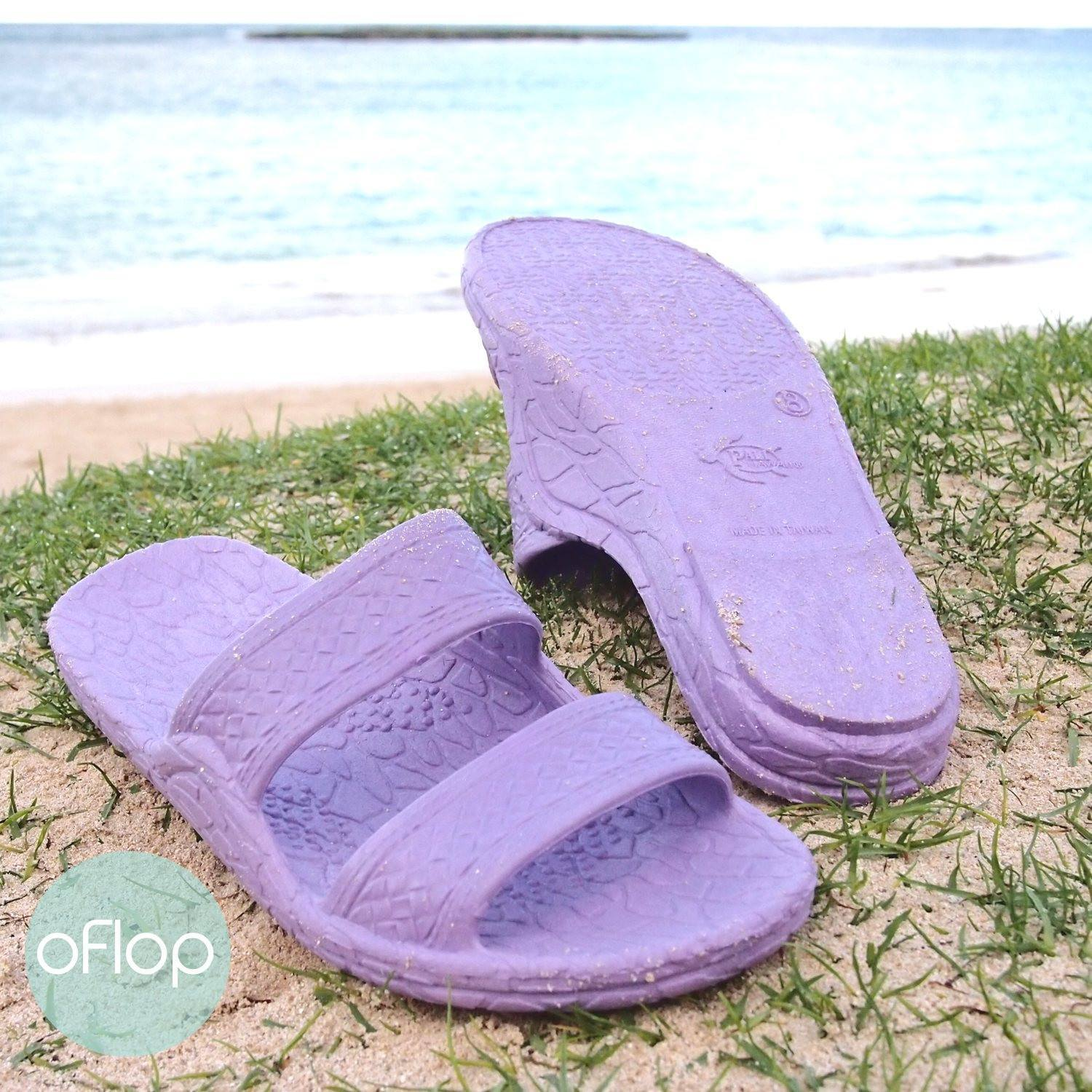 Sandals - Lilac Jandals -- Pali Hawaii Hawaiian Jesus Sandals