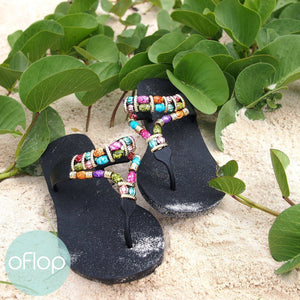 Sandals - Sparkle Karma -- Pali Hawaii Thong Sandals