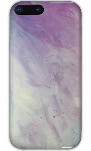 JUSTmarble Purple Breeze Design iPhone XR Case-customxcreations