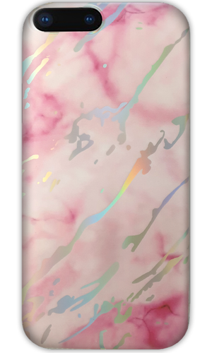 JUSTmarble Pink Mirror Design iPhone 7/8 Plus Case - customxcreations