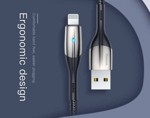 Metal Lightning Fast iPhone Charging Cable 2M (with Indicator Light)