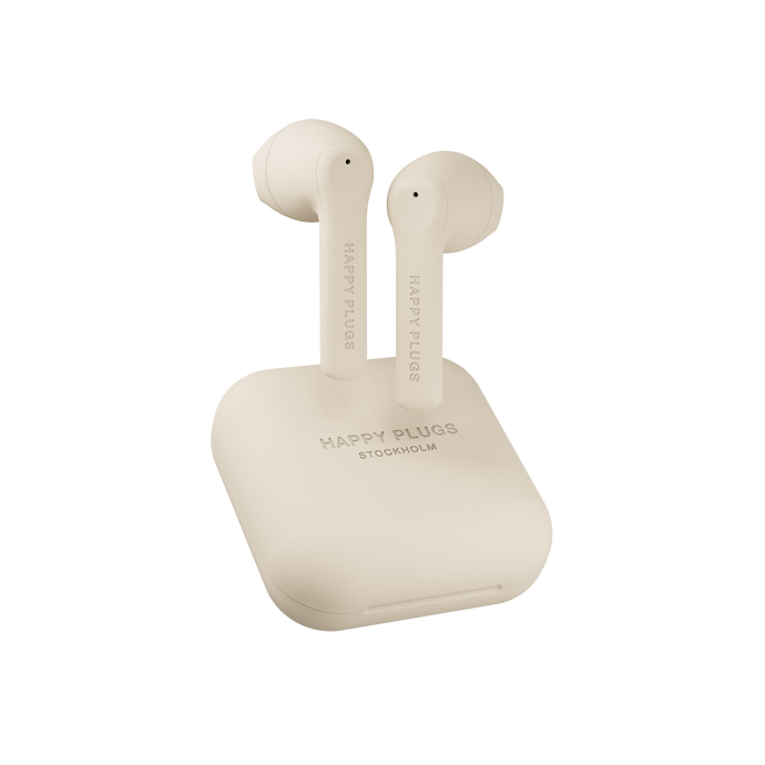 (PREORDER) Happy Plugs Air 1 Go True Wireless- Nude