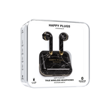 Load image into Gallery viewer, Happy Plugs Air 1 True Wireless Earphones Limited Edition- Black Marble