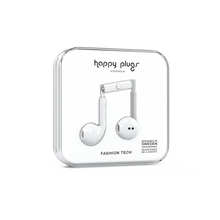 Load image into Gallery viewer, Happy Plugs Earbud Plus- White-customxcreations