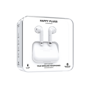 Happy Plugs Air 1 True Wireless Earphones - White - customxcreations