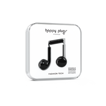 Load image into Gallery viewer, Happy Plugs Earbud Plus - Black-customxcreations