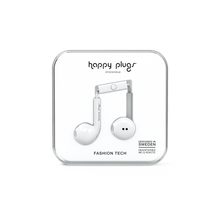 Load image into Gallery viewer, Happy Plugs Earbud Plus - White-customxcreations