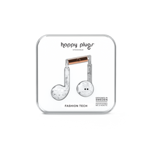 Load image into Gallery viewer, Happy Plugs Earbud Plus - White Marble-customxcreations