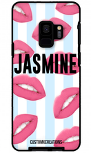 Load image into Gallery viewer, Hot Lips Bleu Samsung S9 Plus Case - customxcreations