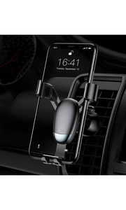 Gravity Car Phone Holder - Black-customxcreations