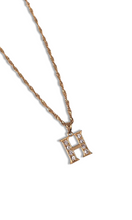 Load image into Gallery viewer, Gold Deluxe Diamond Necklace-customxcreations