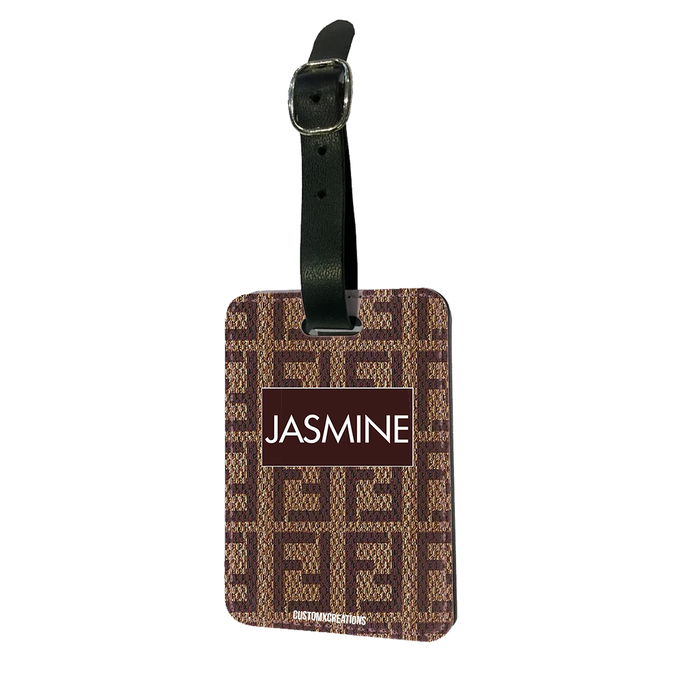 Personalised F* LOVE Luggage Tag-customxcreations