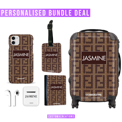 Ultimate Travel Bundle | Personalised F* Love Design-customxcreations