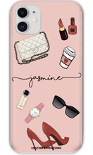 Load image into Gallery viewer, Personalised FASHION 'Glam' iPhone 11 Case-customxcreations