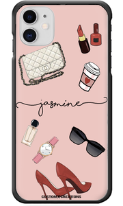 Personalised FASHION 'Glam' iPhone 11 Case-customxcreations