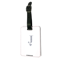 Load image into Gallery viewer, Personalised Glamorous Glitter White Luggage Tag-customxcreations