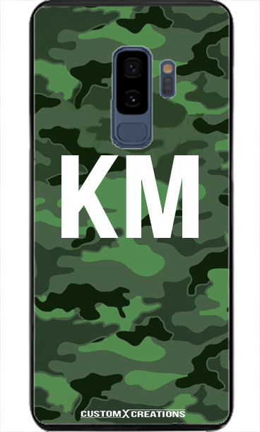 Urban Green Camo Samsung S9 Plus Case - customxcreations