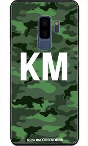 Urban Green Camo Samsung S8 Plus Case - customxcreations