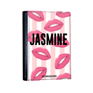 Personalised Hot Lips Passport Cover-customxcreations